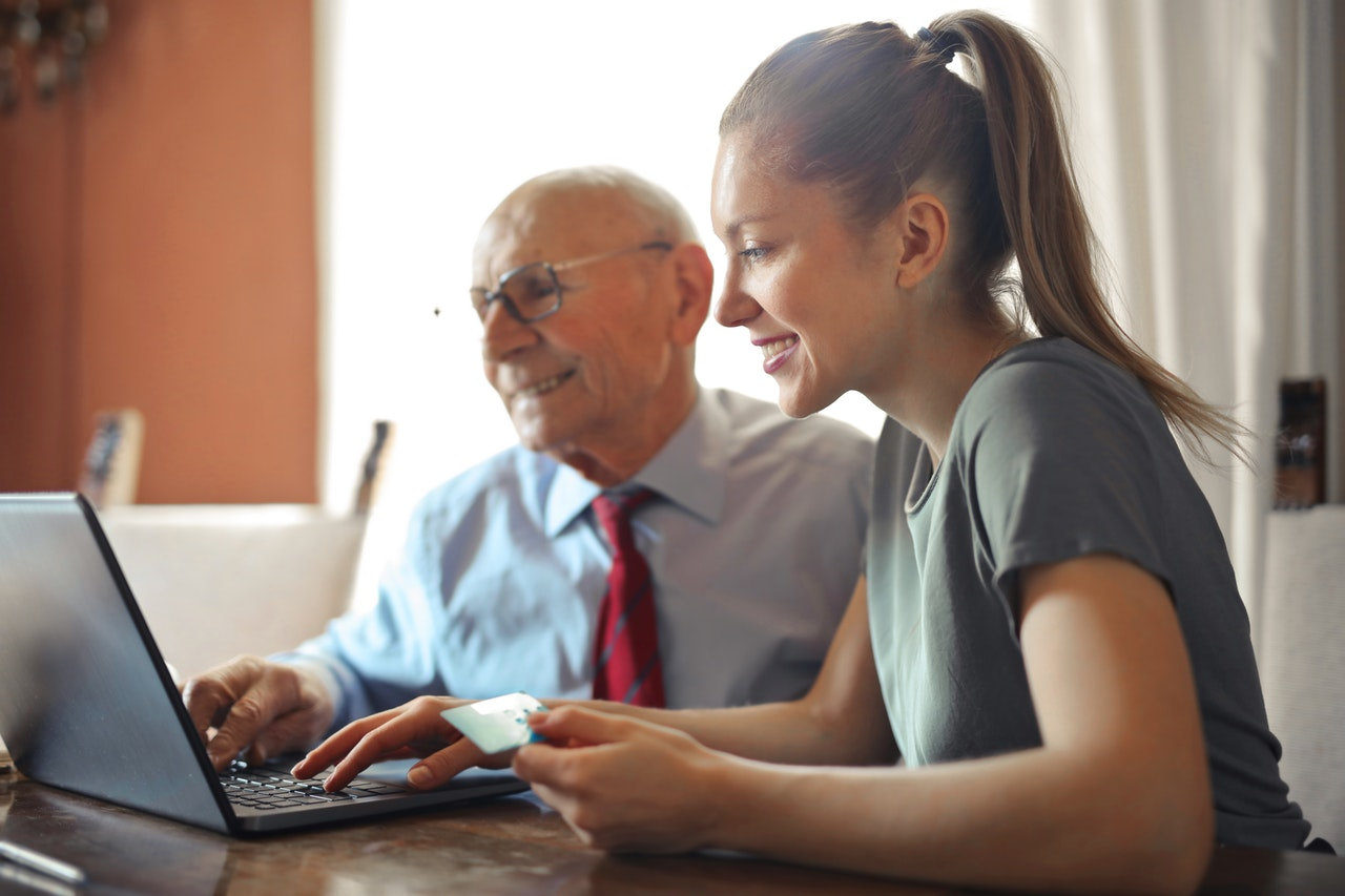 assisting elderly