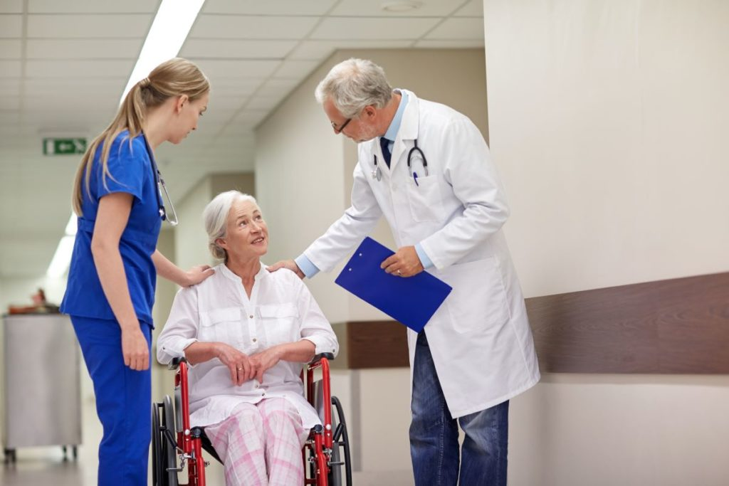 medical practitioners and patient